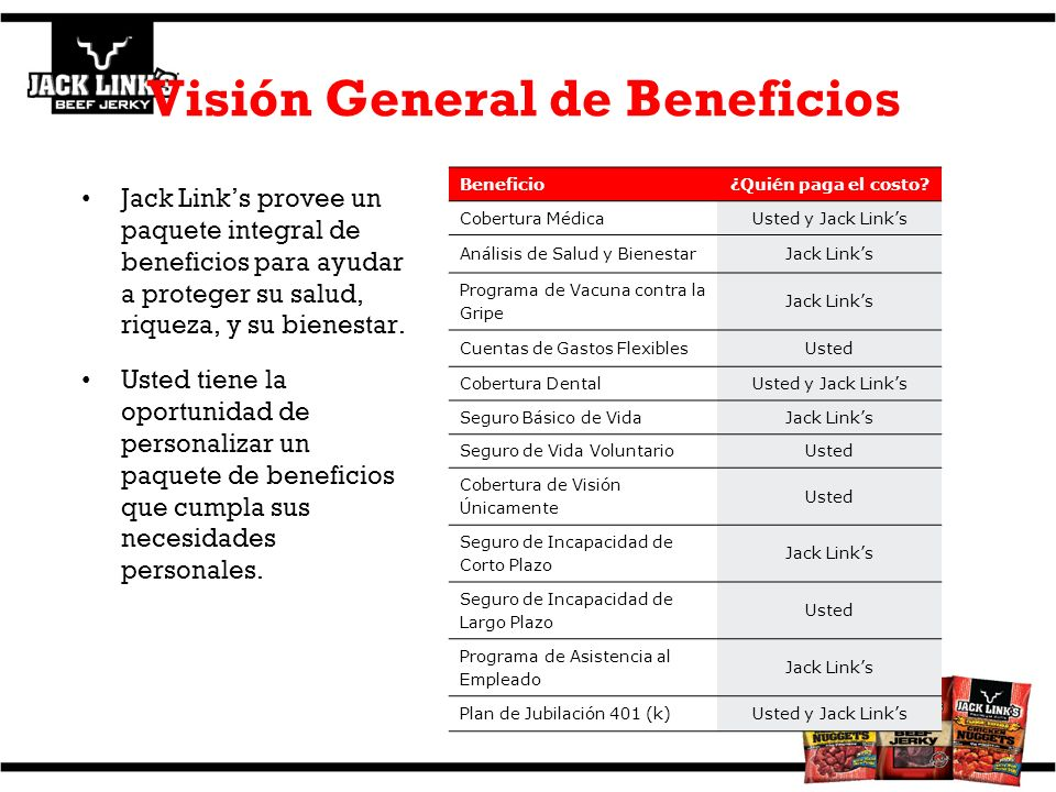 Visión General de Beneficios