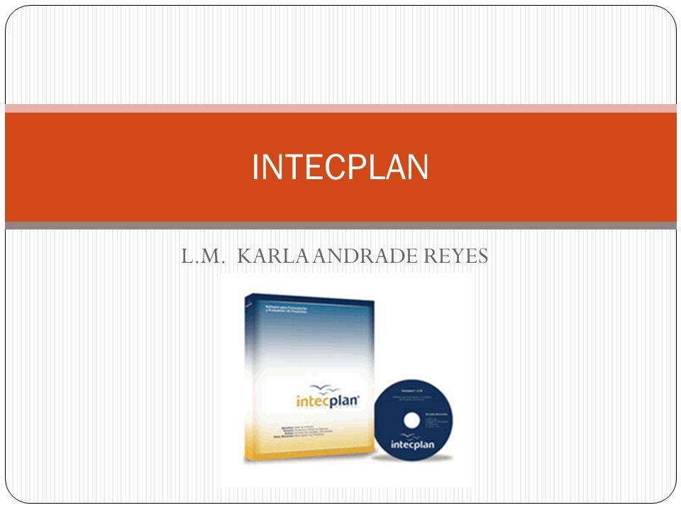 INTECPLAN L.M. KARLA ANDRADE REYES