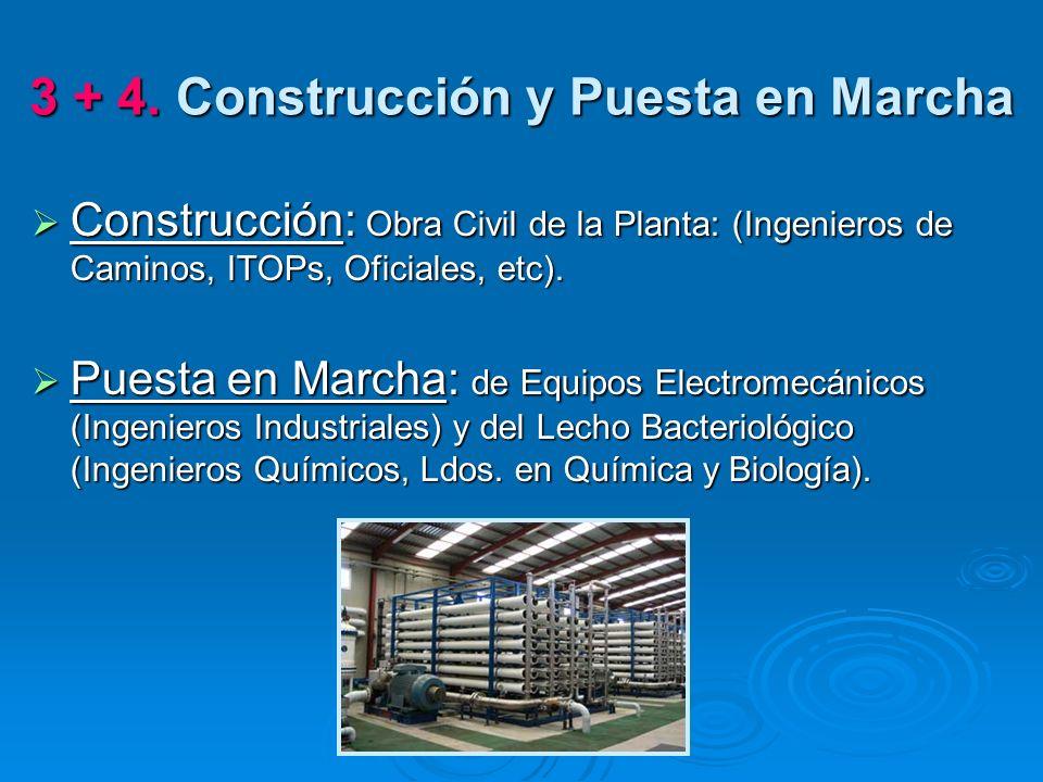3 + 4. Construcción y Puesta en Marcha