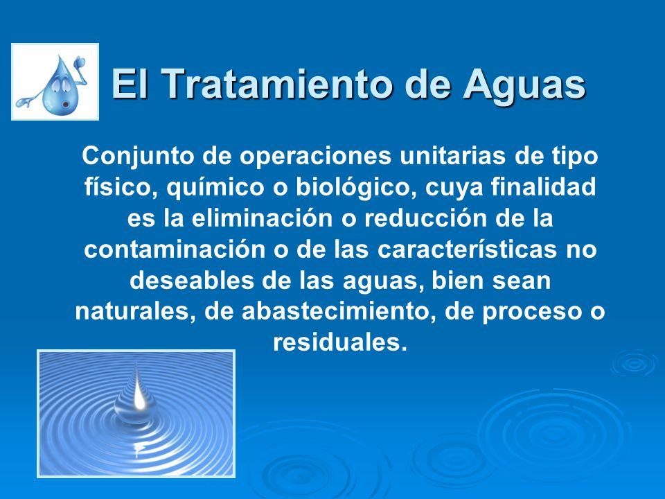 El Tratamiento de Aguas