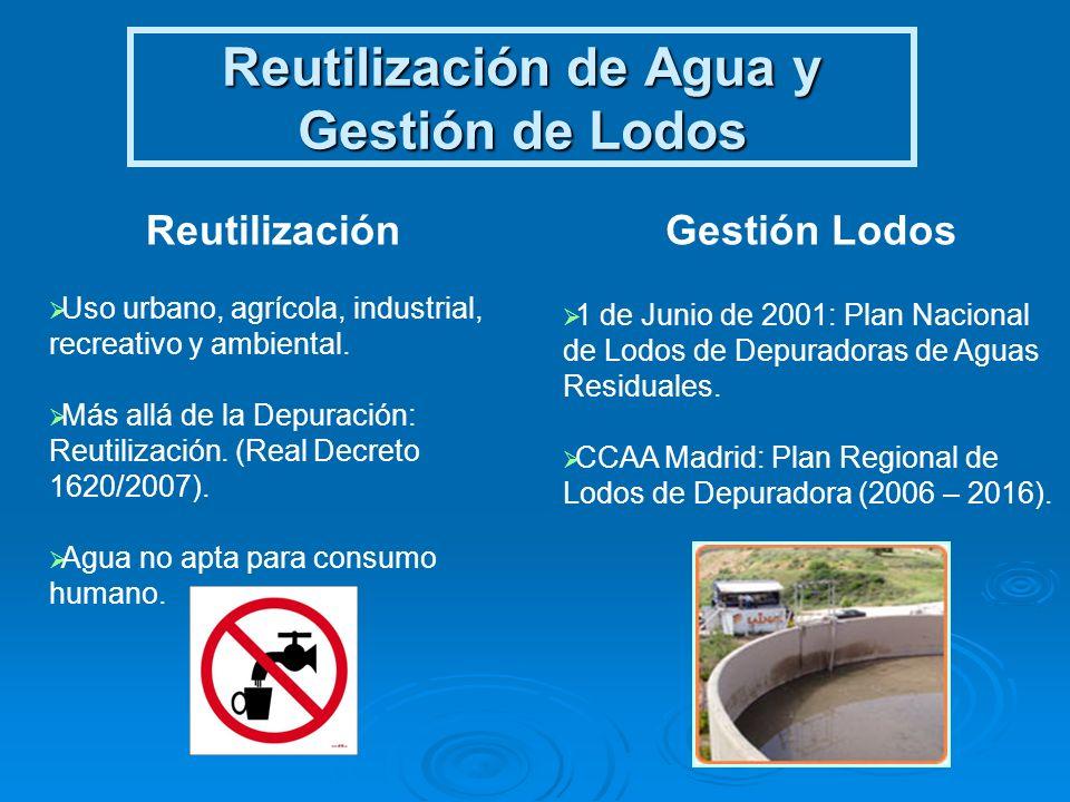 Reutilización de Agua y Gestión de Lodos
