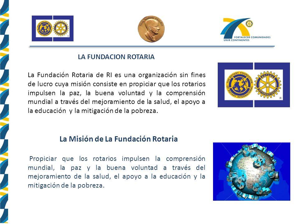 La Misión de La Fundación Rotaria