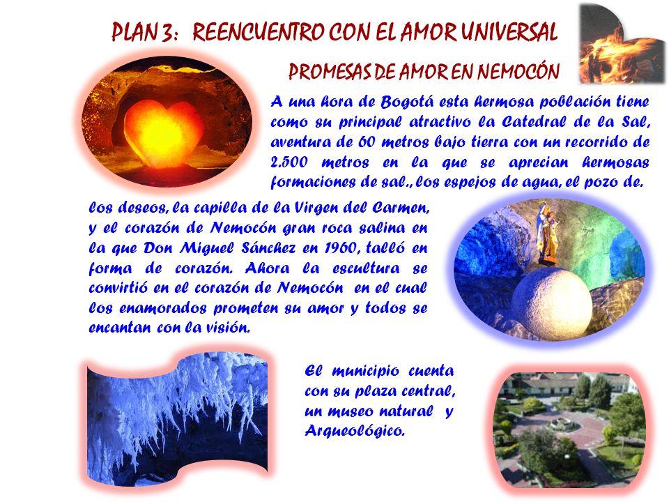 PLAN 3: REENCUENTRO CON EL AMOR UNIVERSAL PROMESAS DE AMOR EN NEMOCÓN