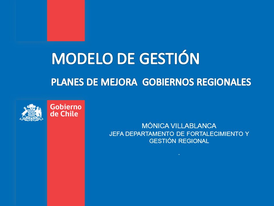 PLANES DE MEJORA GOBIERNOS REGIONALES