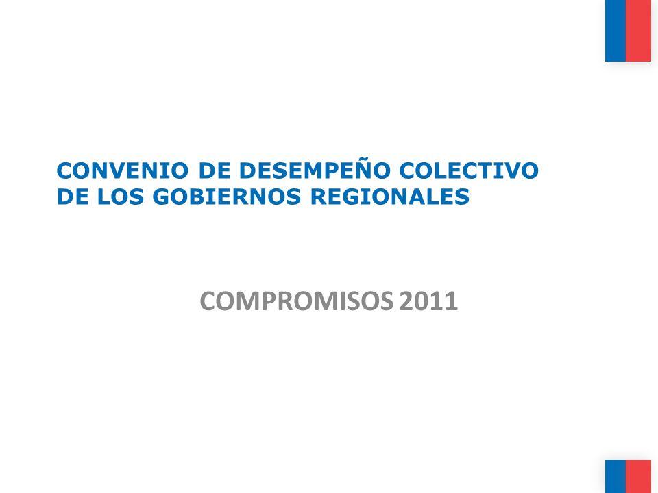 CONVENIO DE DESEMPEÑO COLECTIVO DE LOS GOBIERNOS REGIONALES