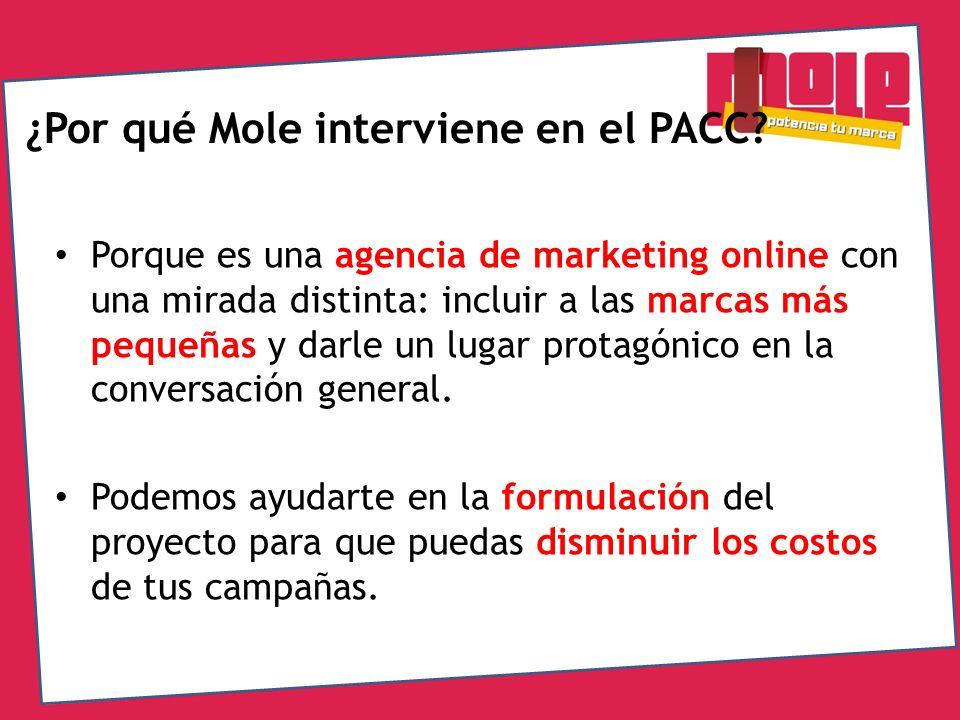 ¿Por qué Mole interviene en el PACC