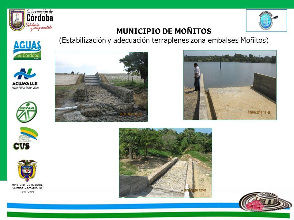 (Estabilización y adecuación terraplenes zona embalses Moñitos)