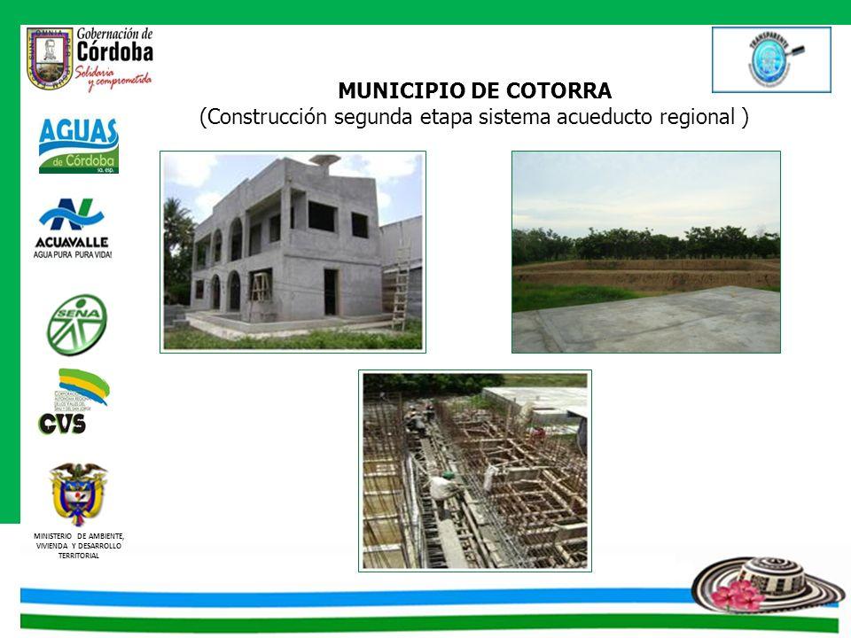 (Construcción segunda etapa sistema acueducto regional )