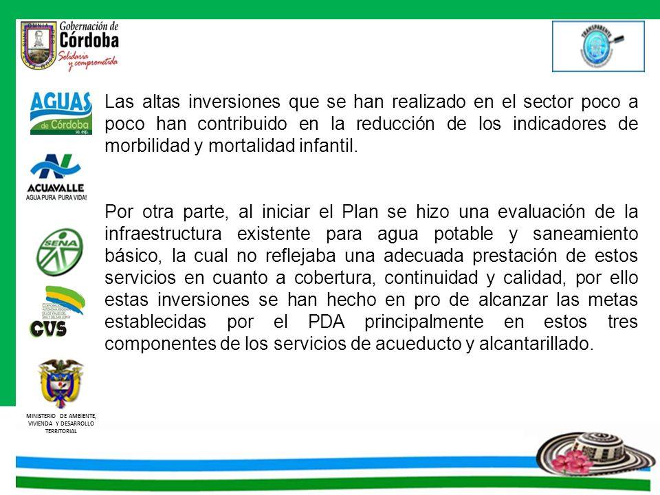Las altas inversiones que se han realizado en el sector poco a poco han contribuido en la reducción de los indicadores de morbilidad y mortalidad infantil.