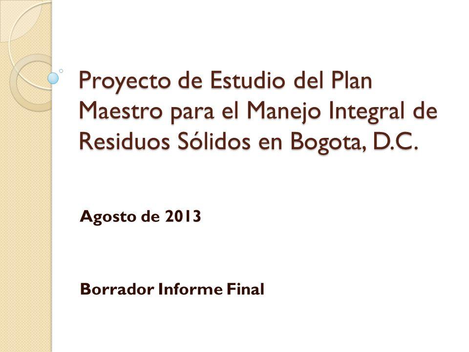 Agosto de 2013 Borrador Informe Final