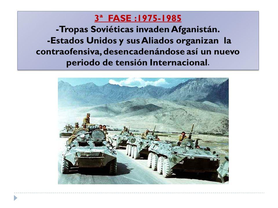 -Tropas Soviéticas invaden Afganistán.