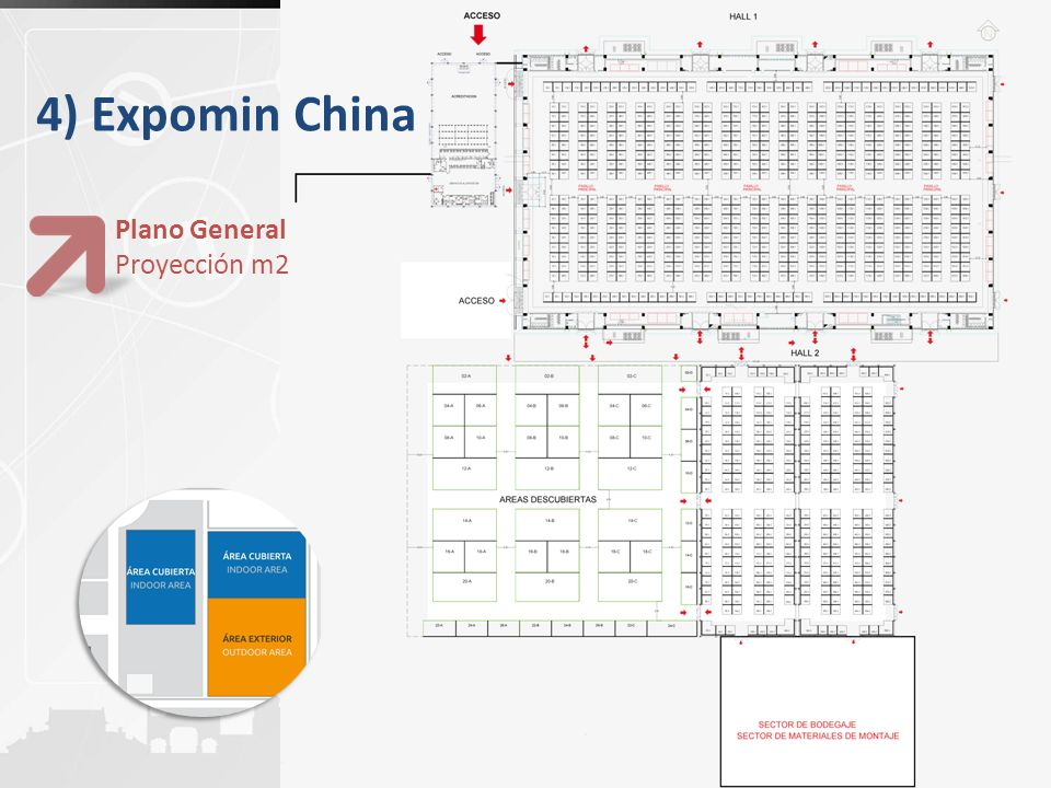 4) Expomin China Plano General Proyección m2