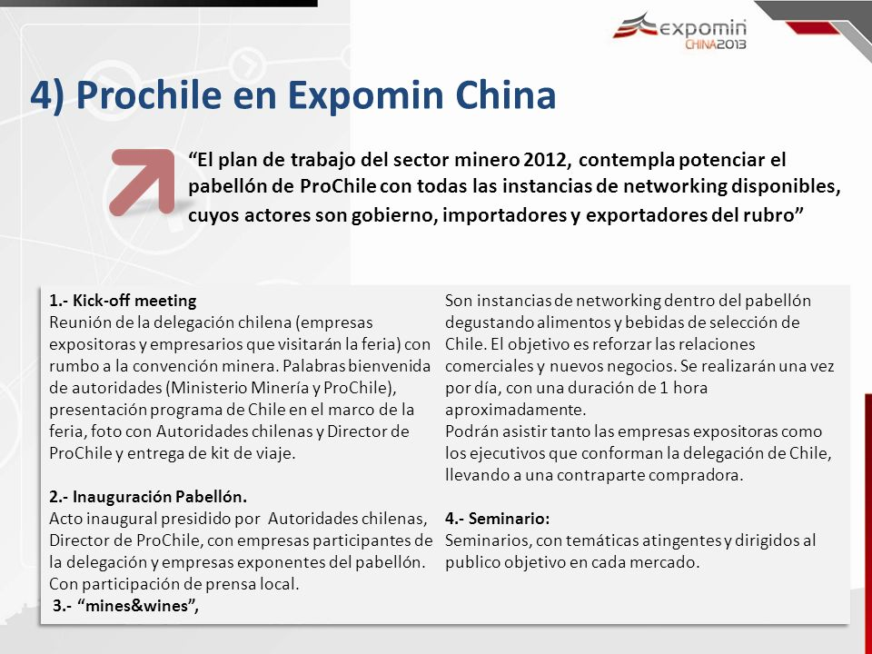 4) Prochile en Expomin China