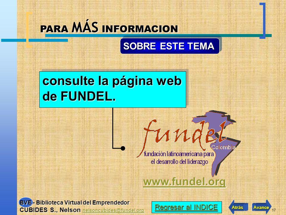 consulte la página web de FUNDEL.
