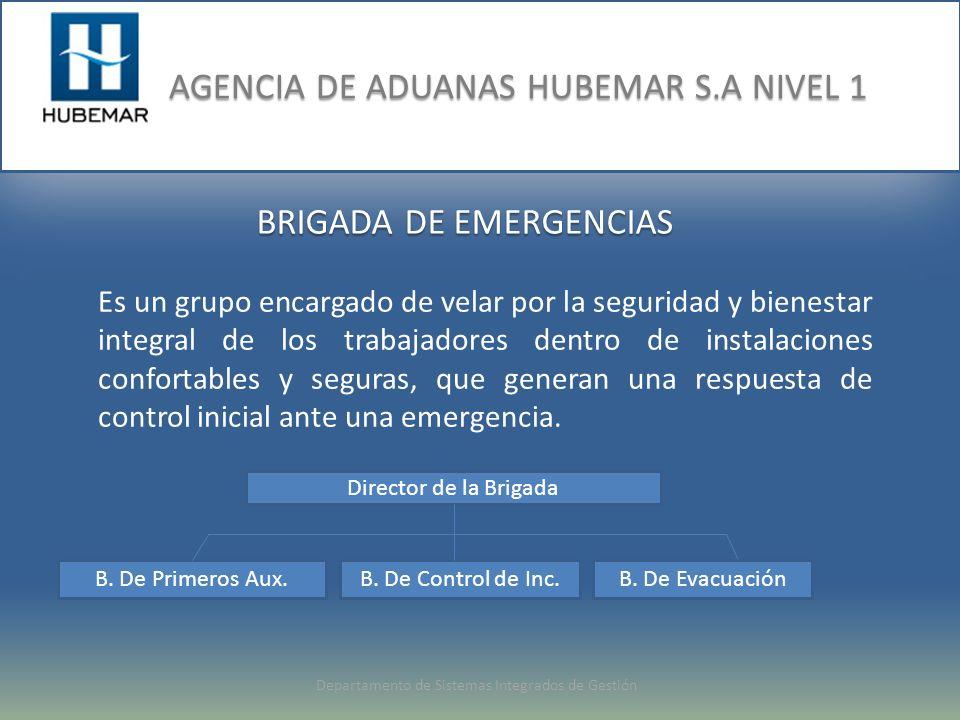 BRIGADA DE EMERGENCIAS