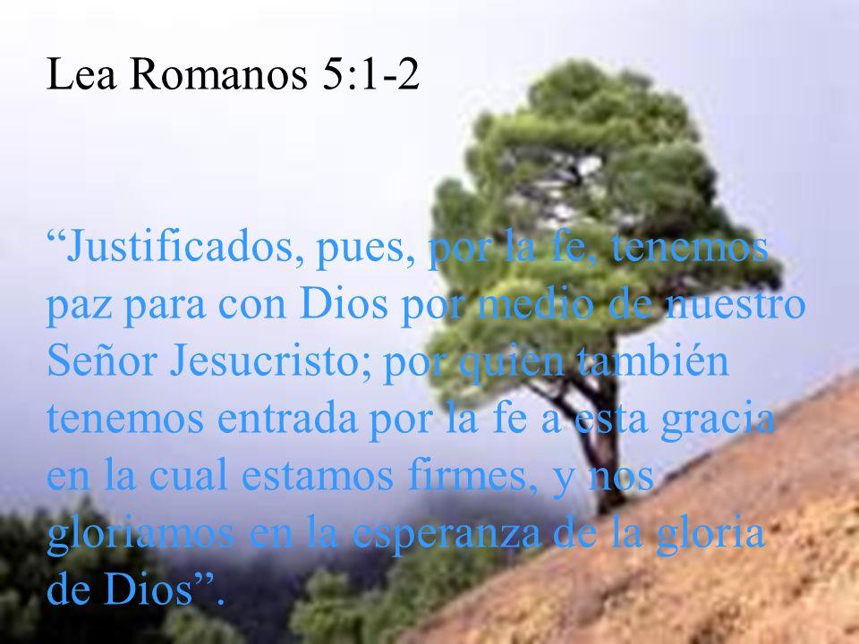 Lea Romanos 5:1-2