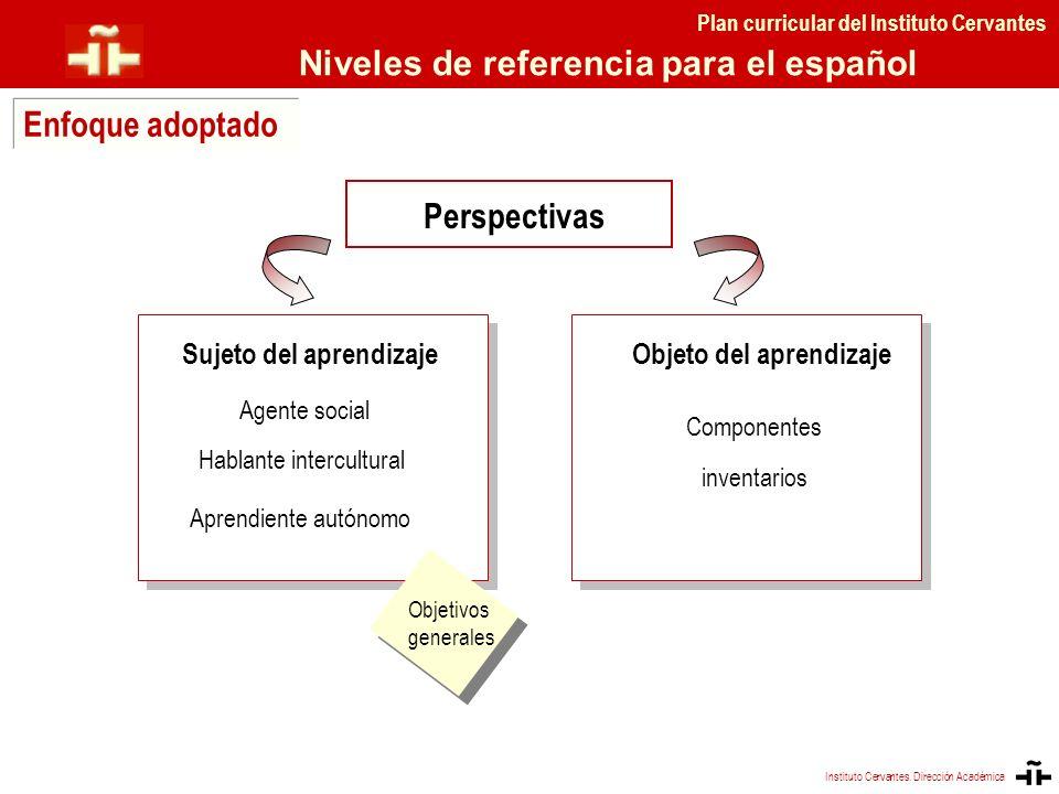 Instituto Cervantes. Dirección Académica