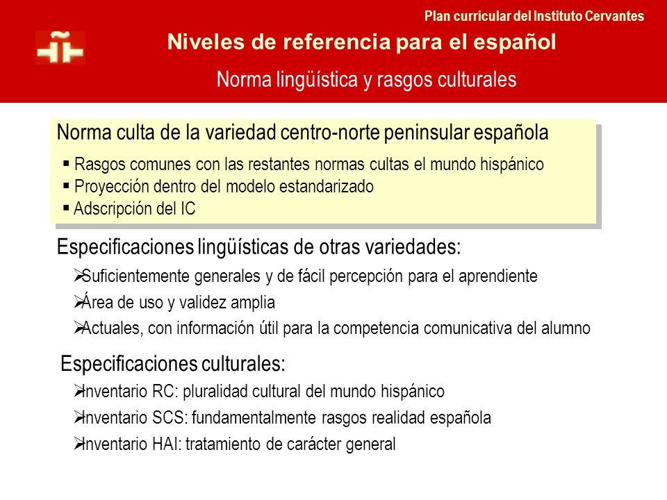 Norma lingüística y rasgos culturales