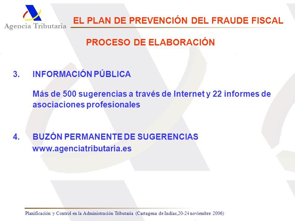 EL PLAN DE PREVENCIÓN DEL FRAUDE FISCAL PROCESO DE ELABORACIÓN