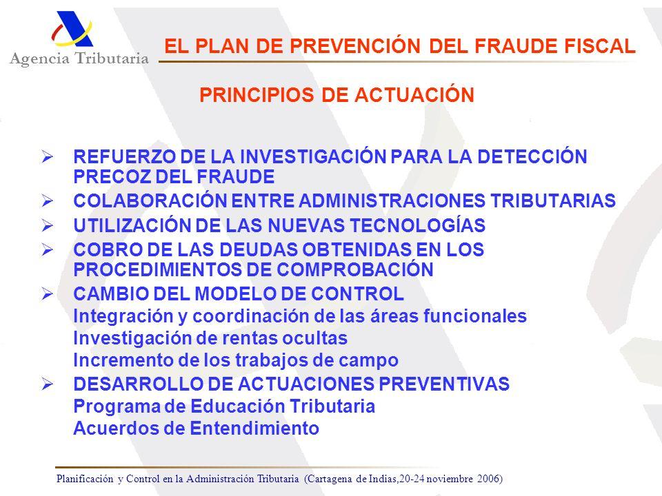 EL PLAN DE PREVENCIÓN DEL FRAUDE FISCAL PRINCIPIOS DE ACTUACIÓN