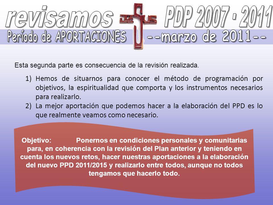 Período de APORTACIONES --marzo de 2011--