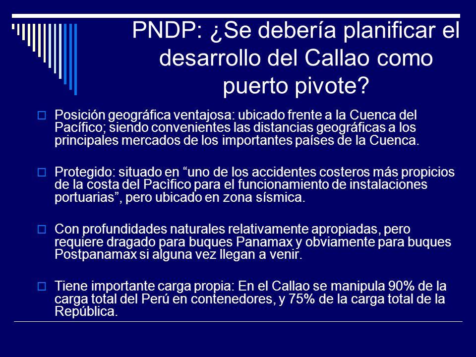 PNDP: ¿Se debería planificar el desarrollo del Callao como puerto pivote