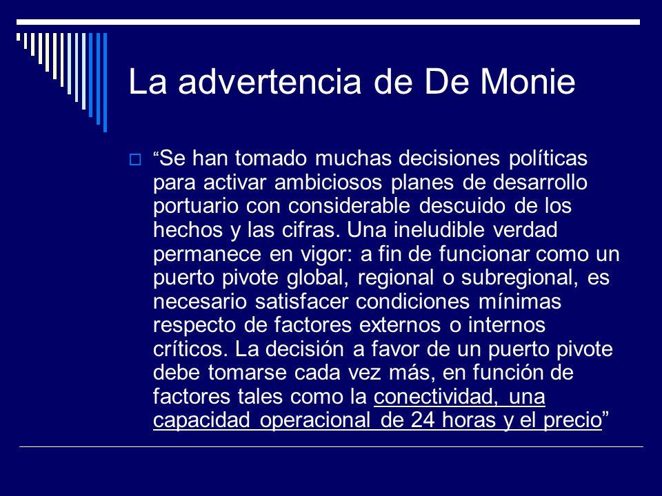 La advertencia de De Monie