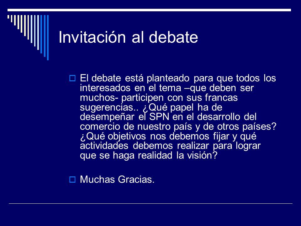 Invitación al debate