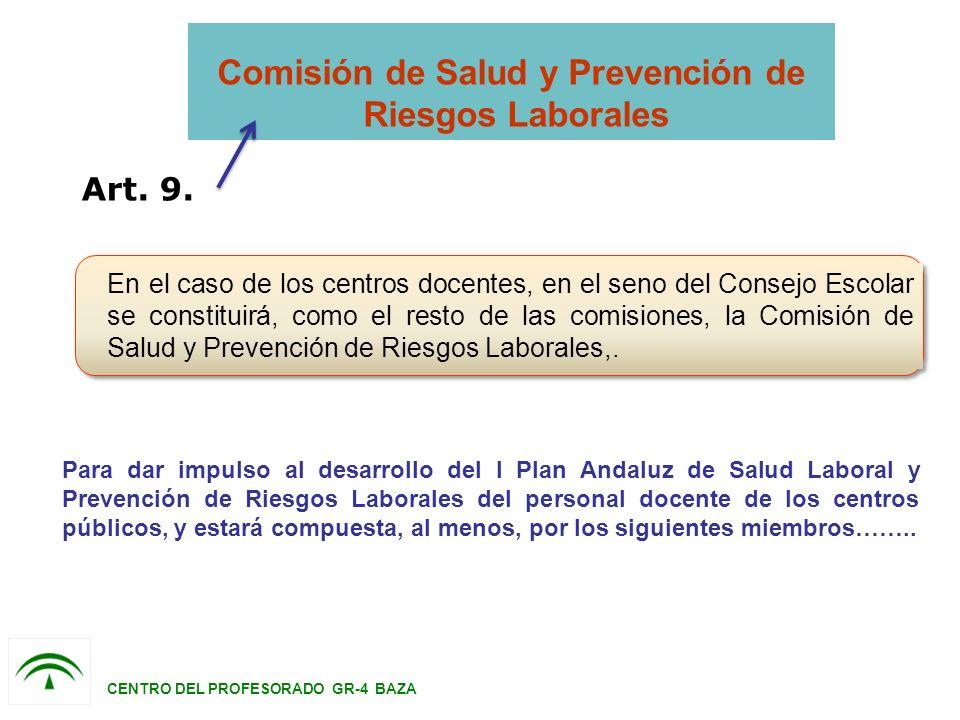Comisión de Salud y Prevención de