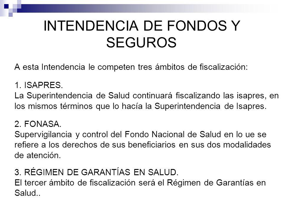 INTENDENCIA DE FONDOS Y SEGUROS