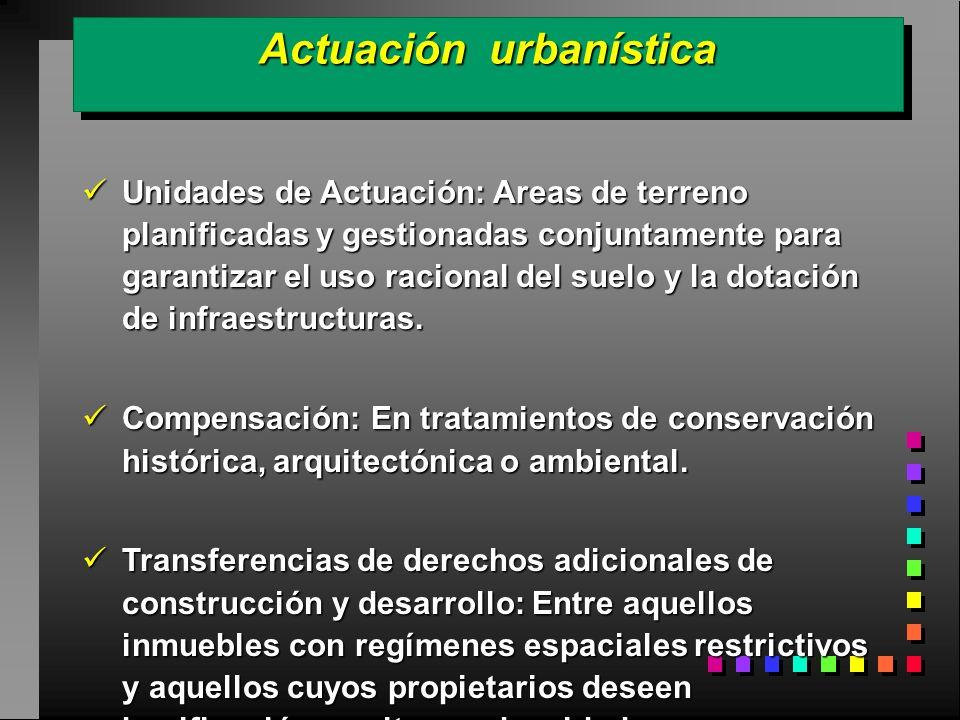 Actuación urbanística