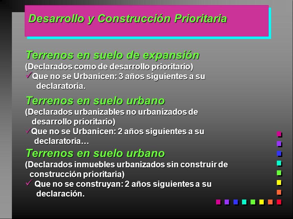 Desarrollo y Construcción Prioritaria