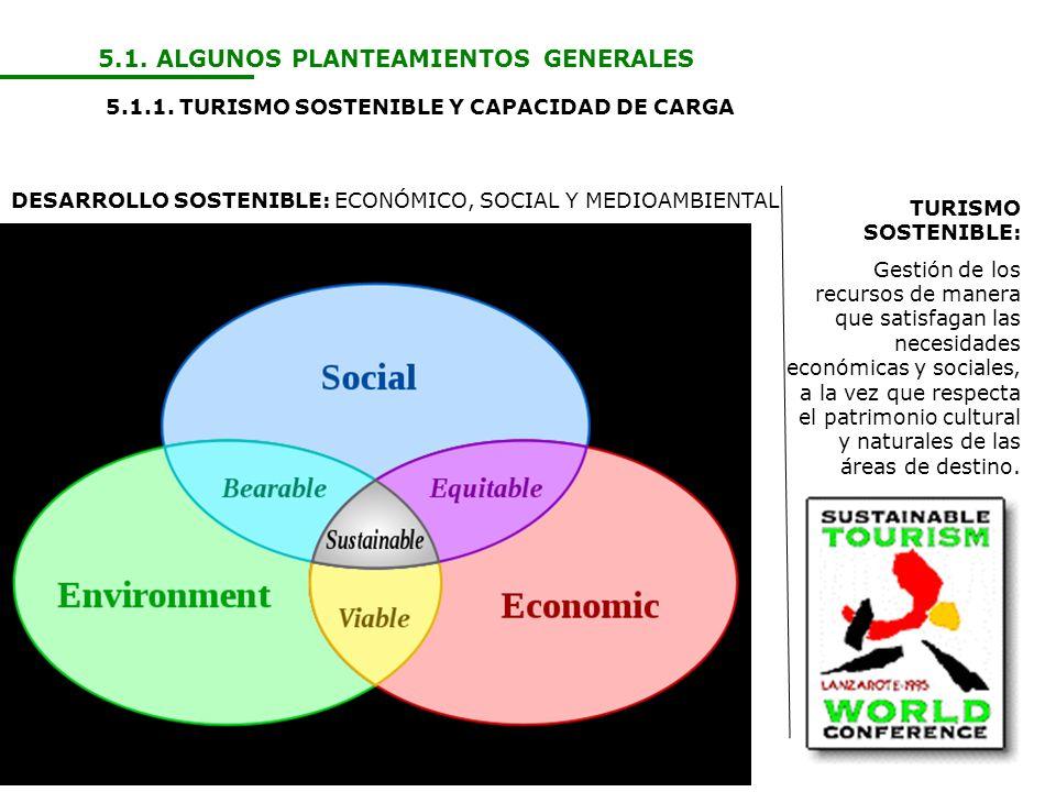 5.1. ALGUNOS PLANTEAMIENTOS GENERALES