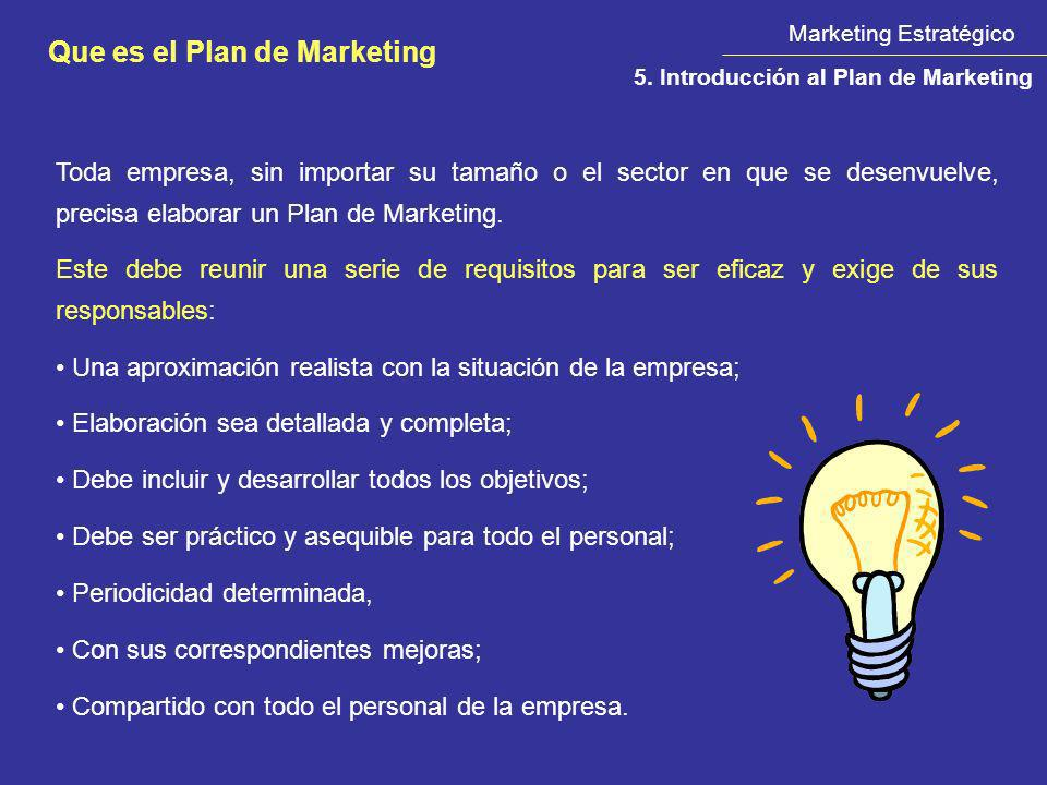 Que es el Plan de Marketing