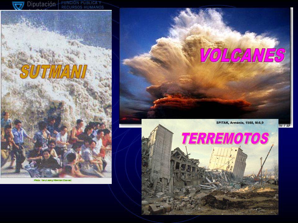 VOLCANES SUTMANI TERREMOTOS