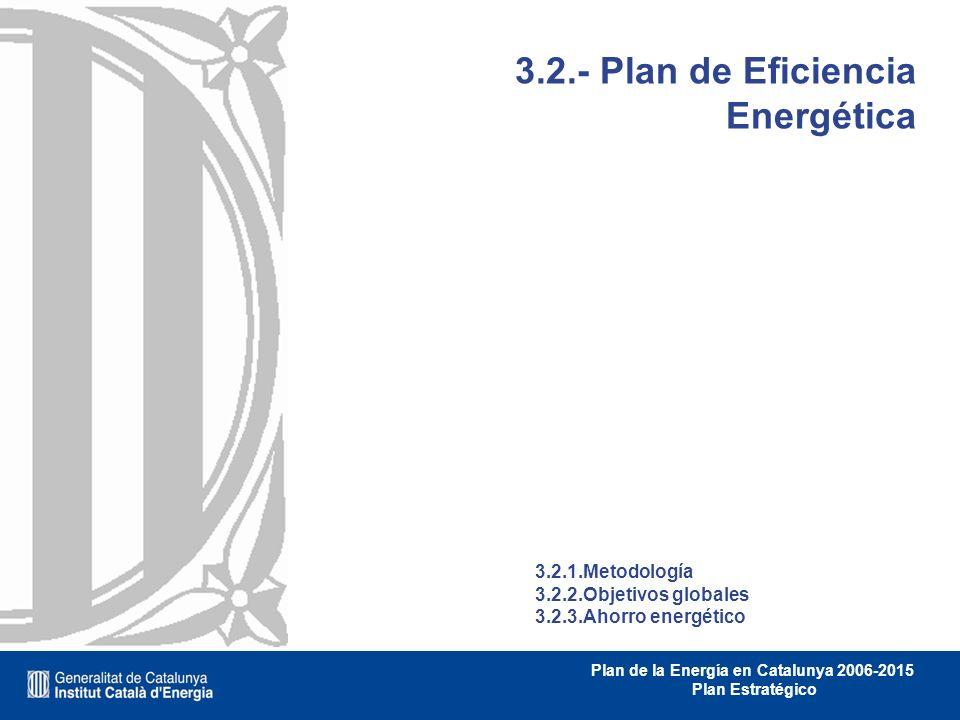 3.2.- Plan de Eficiencia Energética