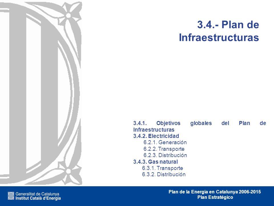 3.4.- Plan de Infraestructuras
