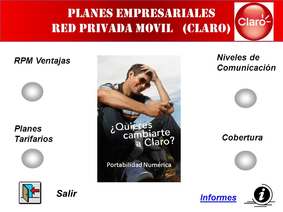 PLANES EMPRESARIALES RED PRIVADA MOVIL (CLARO)