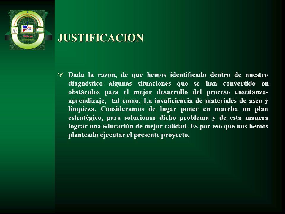 JUSTIFICACION