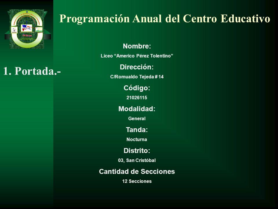 Liceo Americo Pérez Tolentino