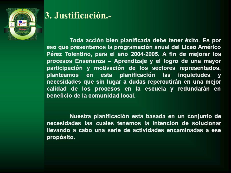 3. Justificación.-