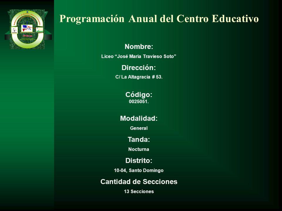 Liceo José María Travieso Soto