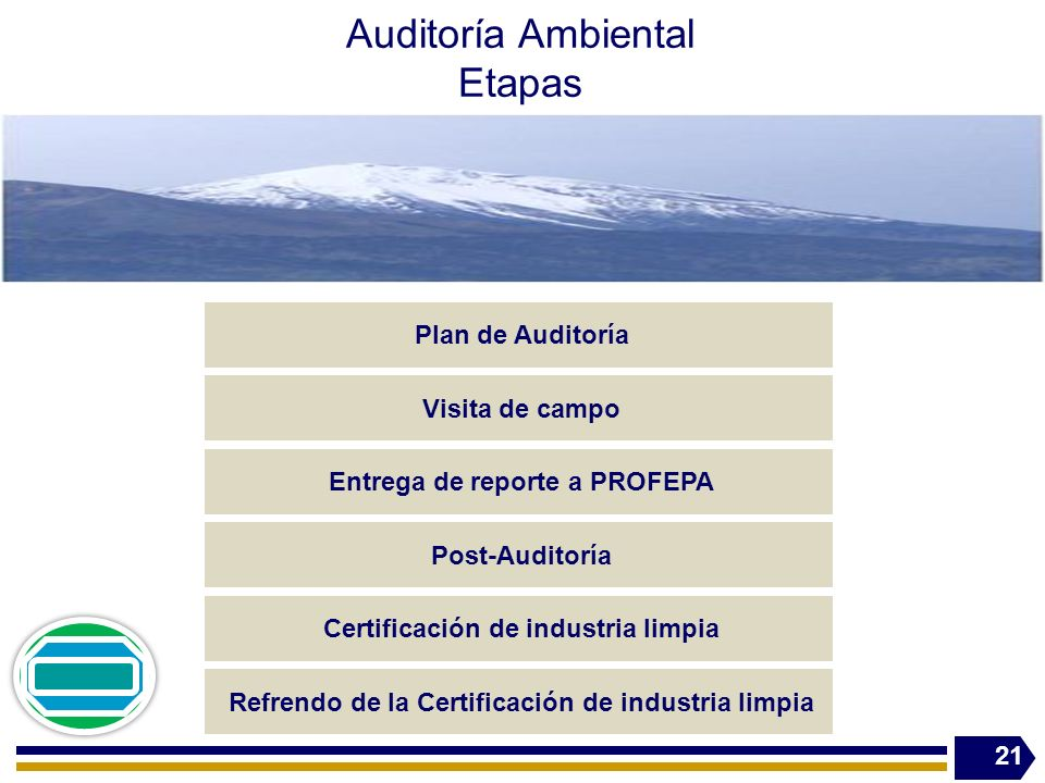 Auditoría Ambiental Etapas