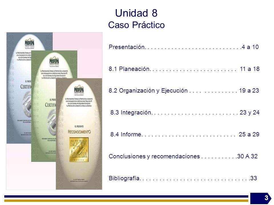 Unidad 8 Caso Práctico Presentación. . . . . . . . . . . . . . . . . . . . . . . . . . . . .4 a 10.