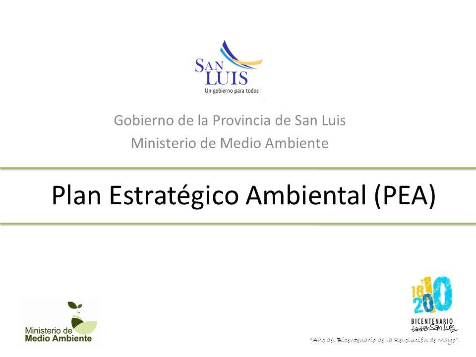 Plan Estratégico Ambiental (PEA)