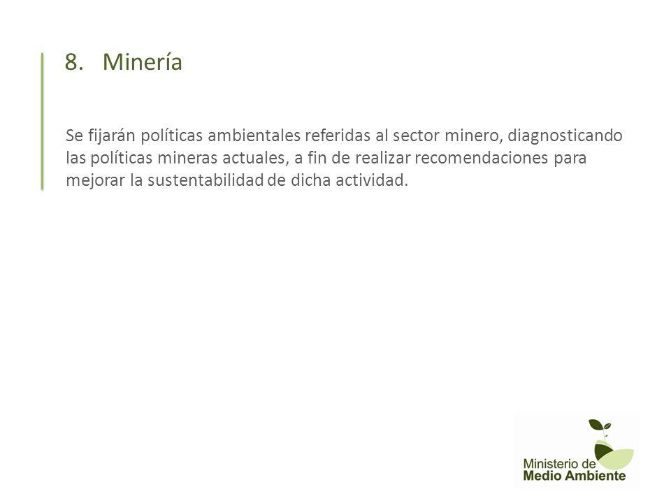 8. Minería