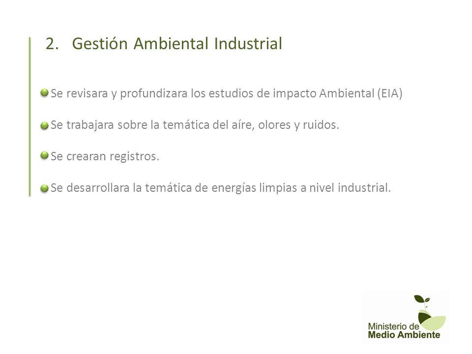 2. Gestión Ambiental Industrial