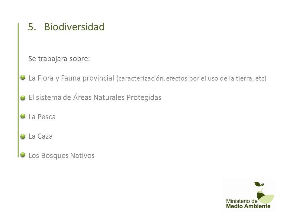 5. Biodiversidad