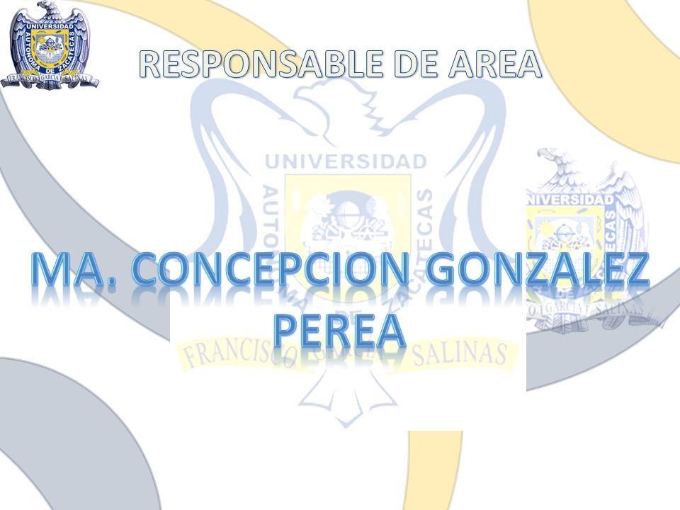 MA. CONCEPCION GONZALEZ PEREA