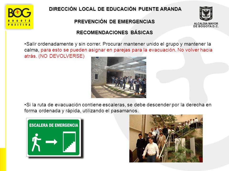 DIRECCIÓN LOCAL DE EDUCACIÓN PUENTE ARANDA